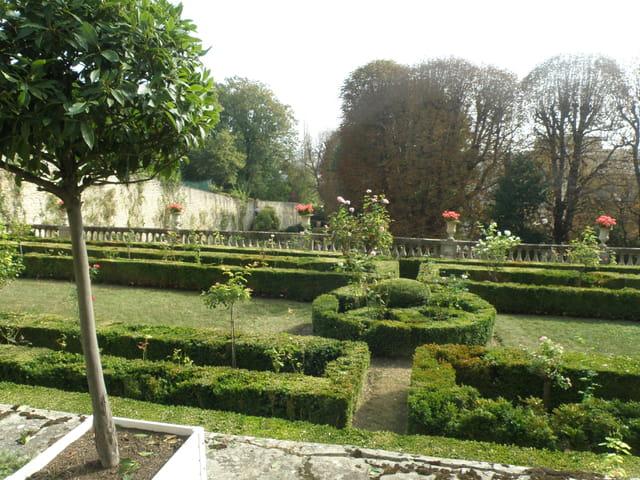 Patrimoine alpicois, les jardins du Pavillon Sully
