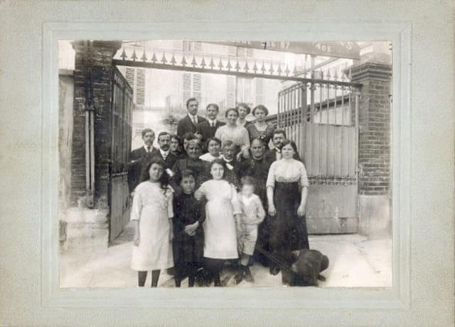 Patron,famille et ouvriers