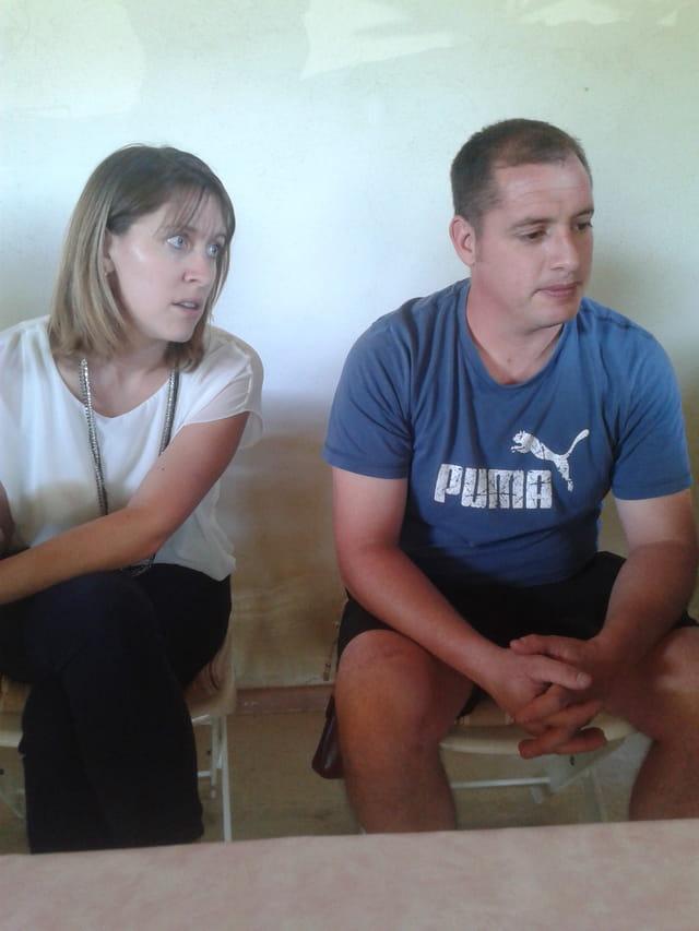 Pauline et Mathias Prieurs 2014 La Carreto Ramado di Cigaloun d'Aureio