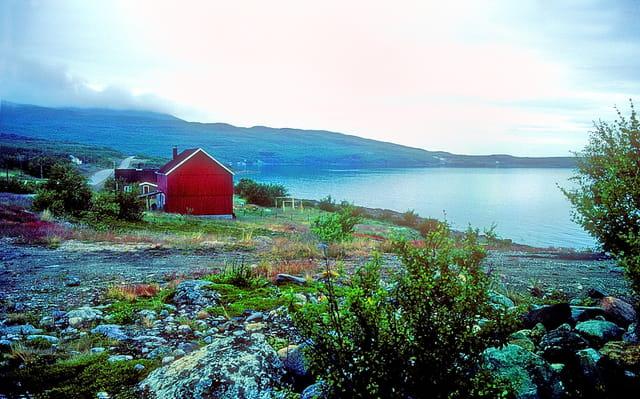 Paysage arctique de Norvège