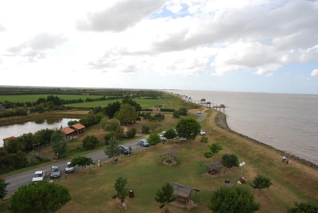 paysage d'en haut du phare Richard