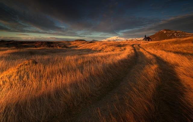 Paysage d'Islande par Raymó