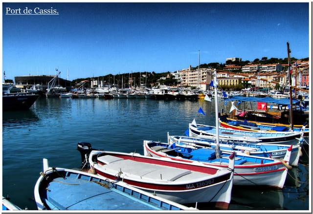 Port de Cassis, Paysage de Cassis.