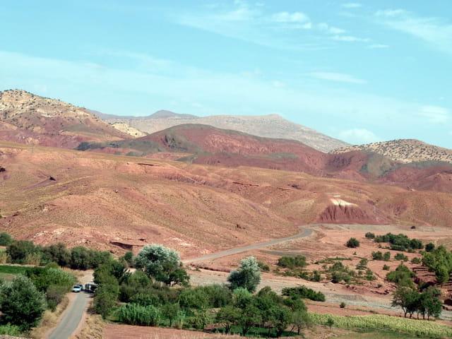 paysage de l'Atlas marocain