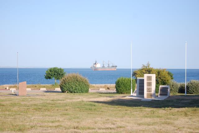 paysage de l'estuaire de la Gironde