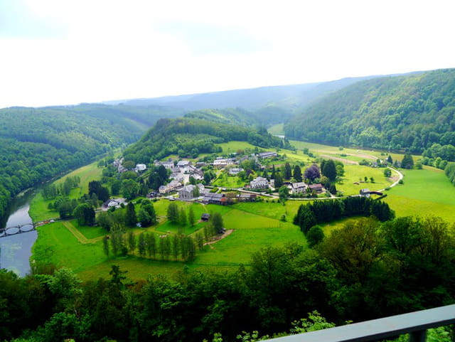 Paysage des Ardennes Belges