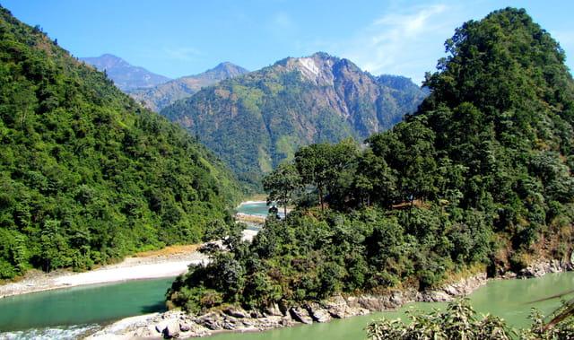 Paysage du Teraï, Népal sud.