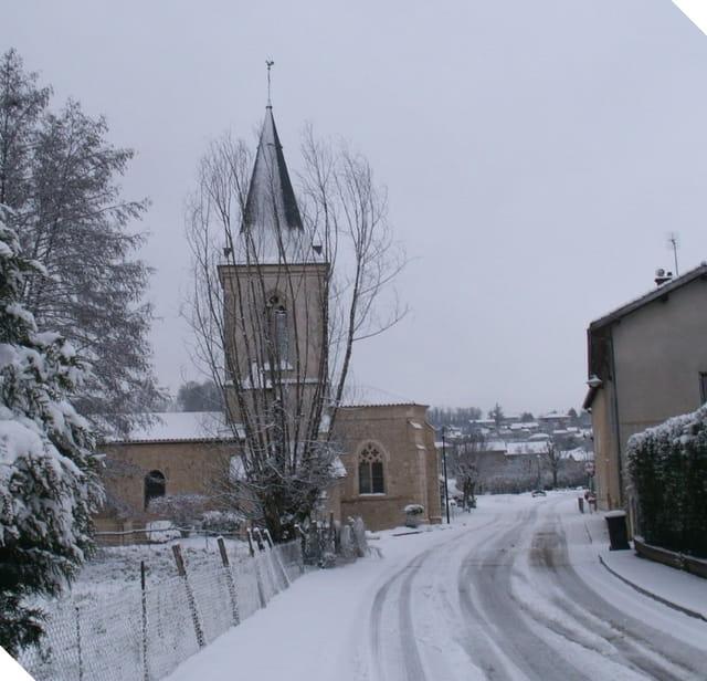 Paysage féerique lors d'une journée hivernale!