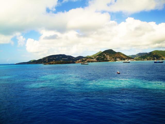 Paysage île