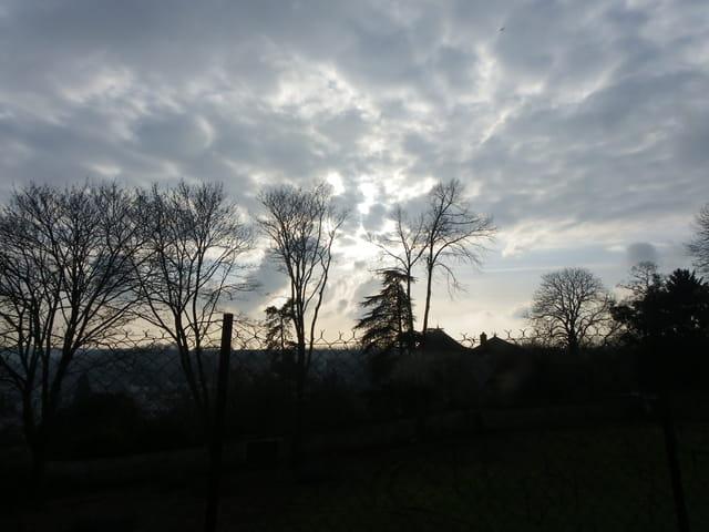 Paysage nuageux
