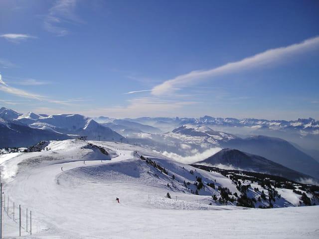 Paysage ski et montagne !