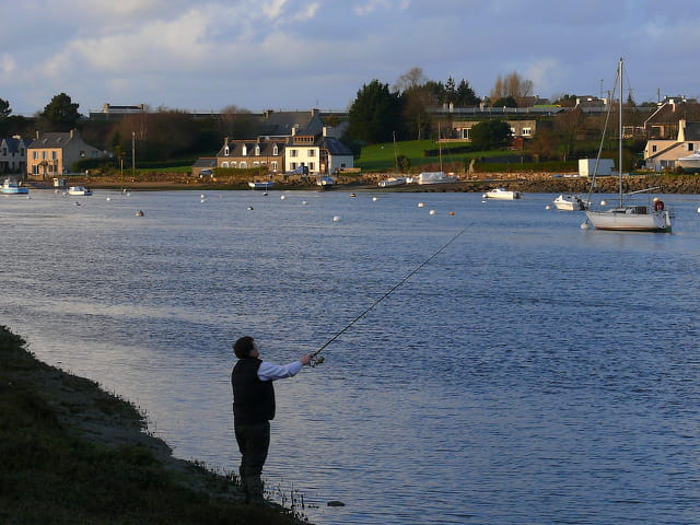 Pêche à la marée du soir