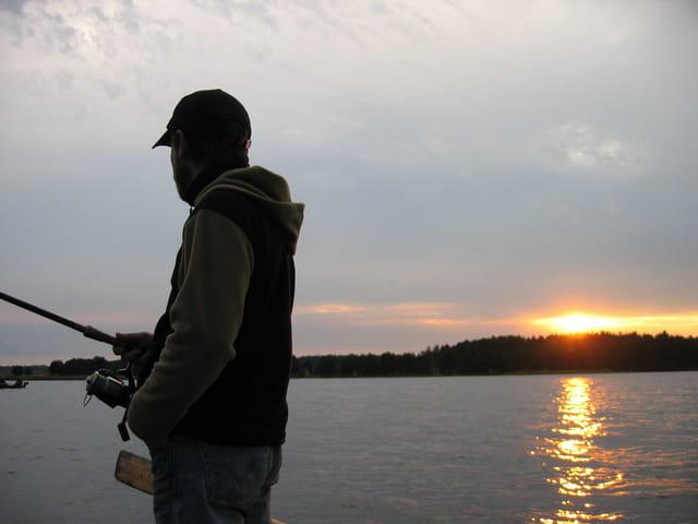 Pêche au lac Usma
