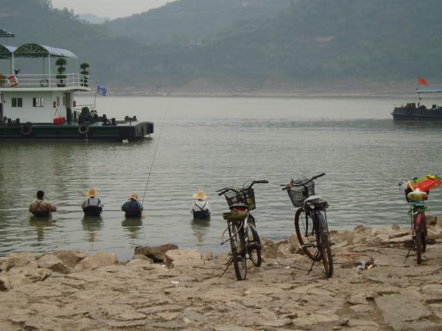 Pêche dans le yang si