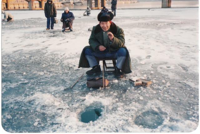 Pêche hivernale