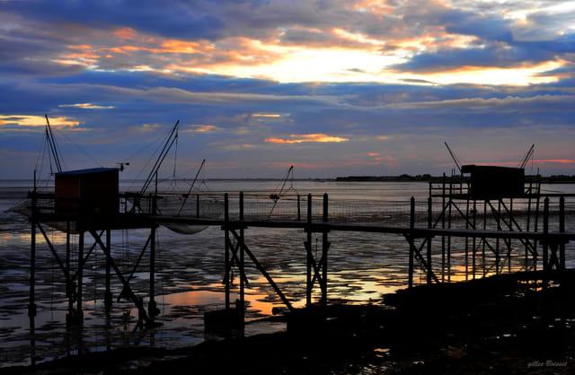 pêcher dès l'aube
