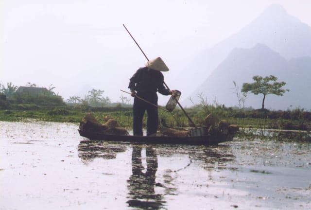 Pêcheur vietnamien