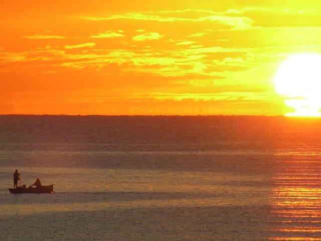 Pêcheurs à l'aube
