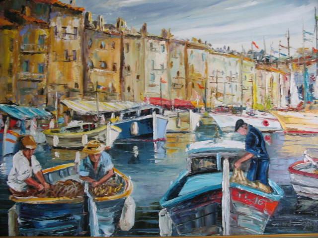 Pecheurs à Saint Tropez