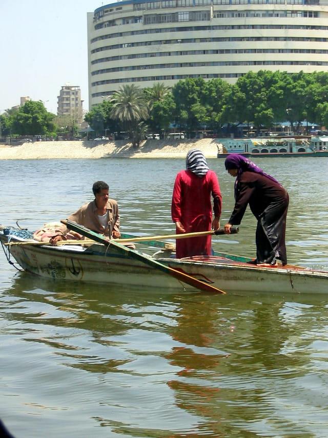 Pecheurs sur le Nil