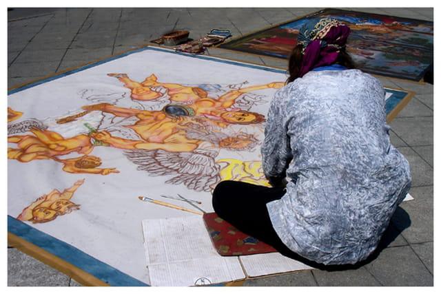 Peintre du bitume
