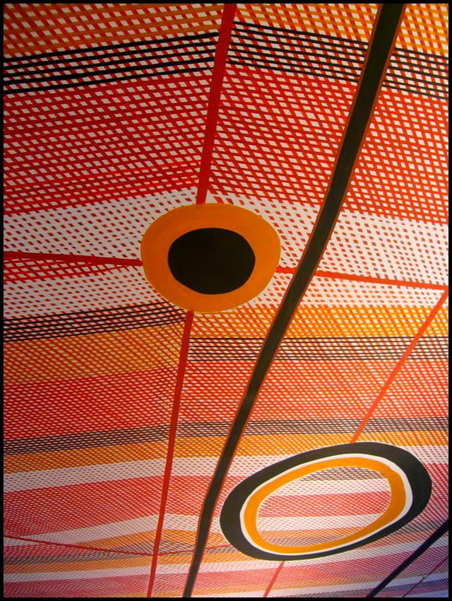 Peinture aborigène d'australie