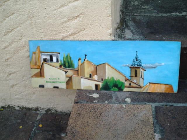 Peinture de chateau gombert
