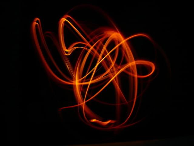 Peinture de lumière