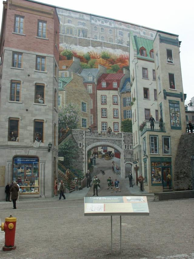 Peinture en trompe l 39 oeil par no l mangel sur l 39 internaute - Trompe l oeil peinture ...