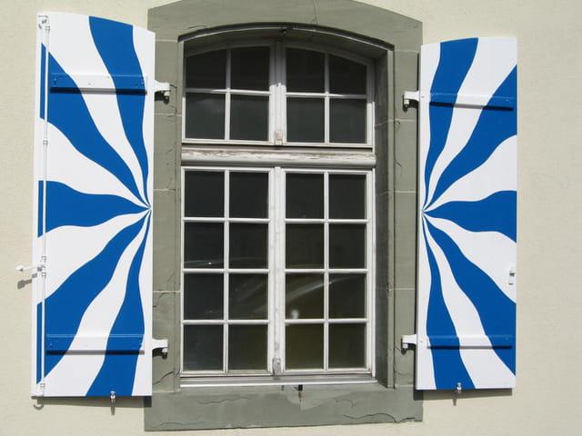 Peinture fenêtre suisse