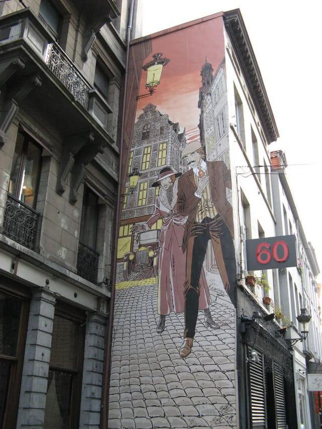Peinture murale de rue