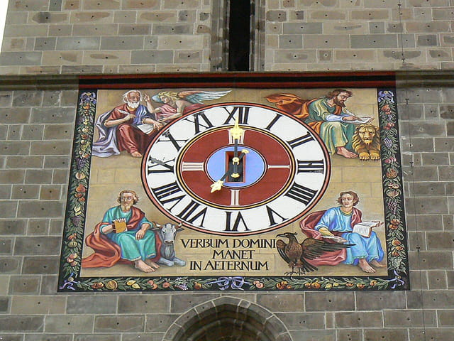 Pendule de l'église