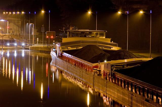 Péniche au Port Mazerolle, Metz