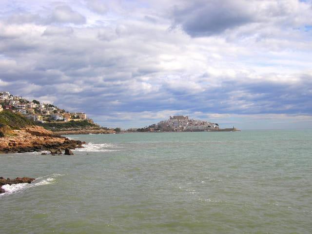 Peniscola vue de la côte (3)