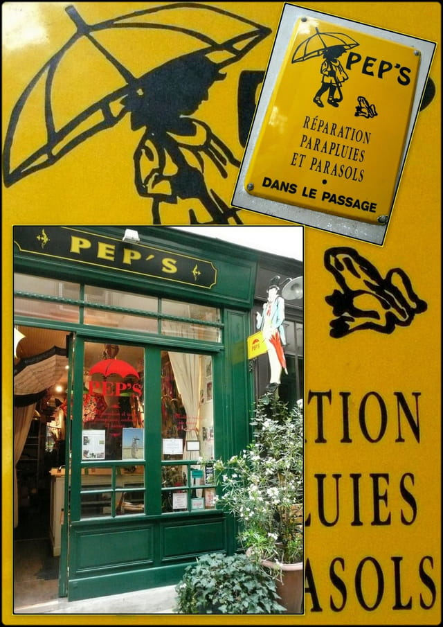 """""""PEP'S"""". Réparation & vente Parapluies, ombrelles, cannes"""