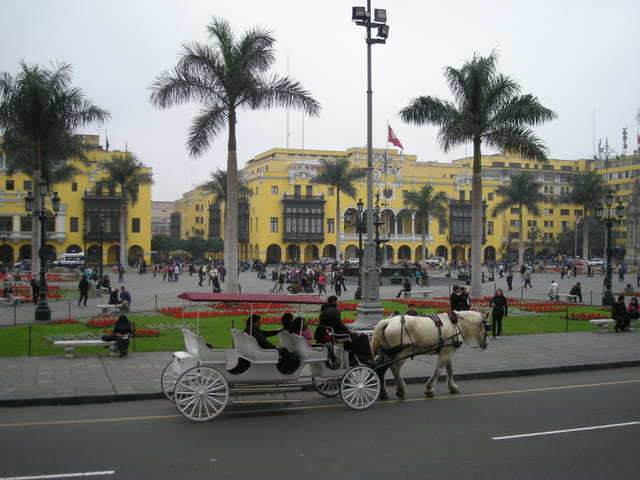 Pérou Août 2011 Plaza de Armas Lima