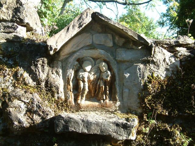 Personnages sculptés