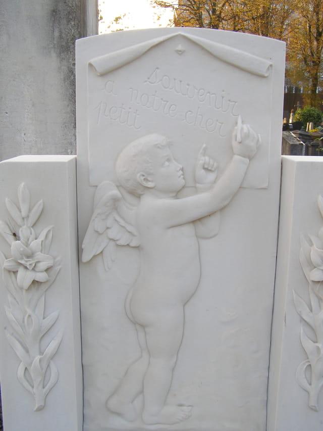 Petit ange blanc
