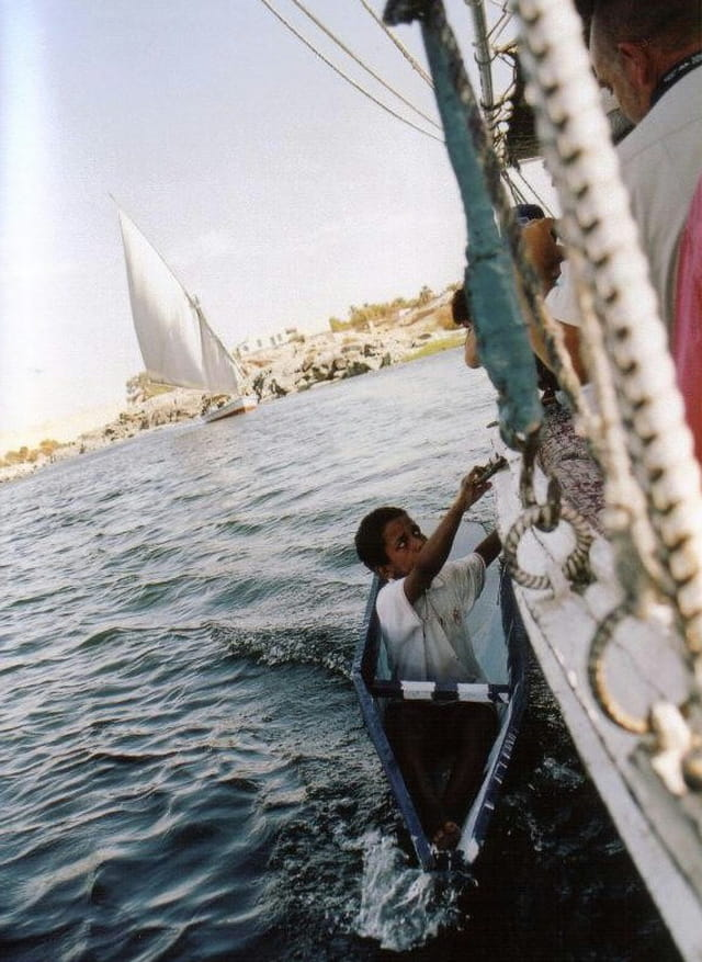 Petit chanteur sur le Nil