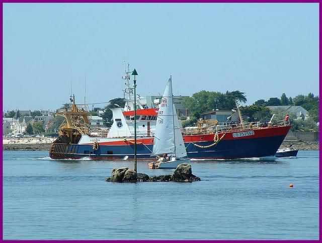 Petit et gros bateaux