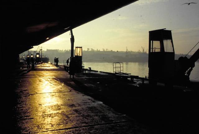 Petit matin sur le quai
