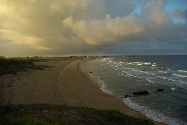 Petit matin sur les plages de Guidel