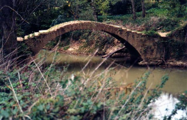 Petit pont a marches
