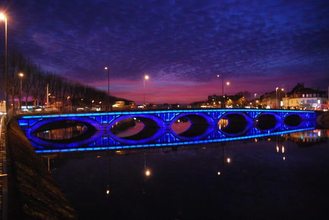 Petit pont à Montluçon