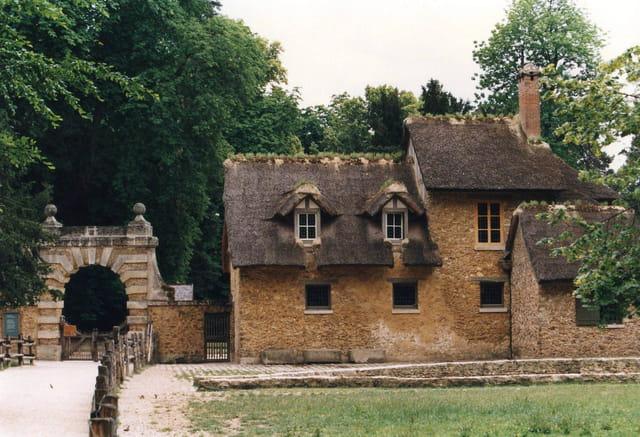 Petite ferme dans le parc du château de Versailles