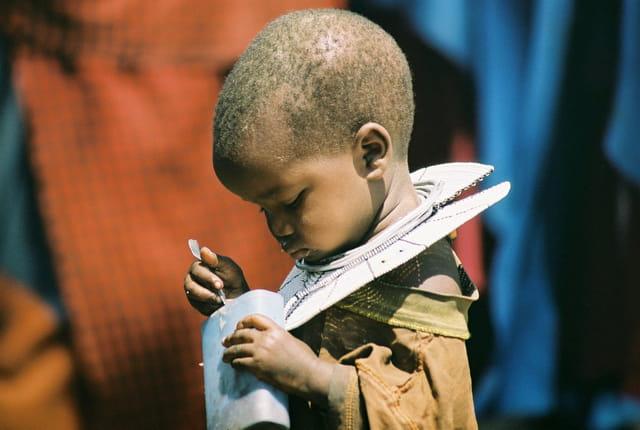 Petite fille Massaï