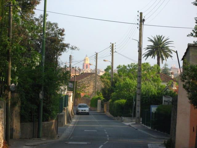 Petite route à St Tropez