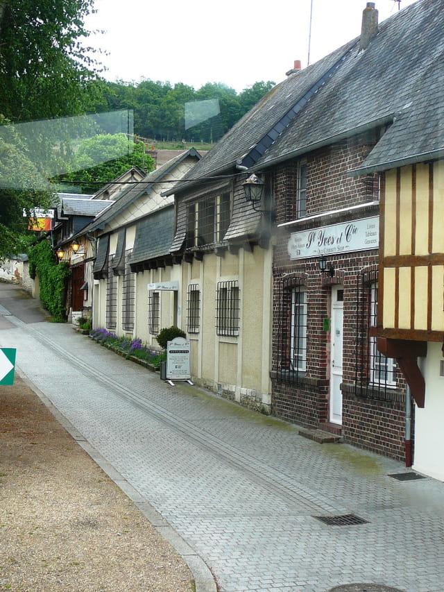 Petite rue pavée