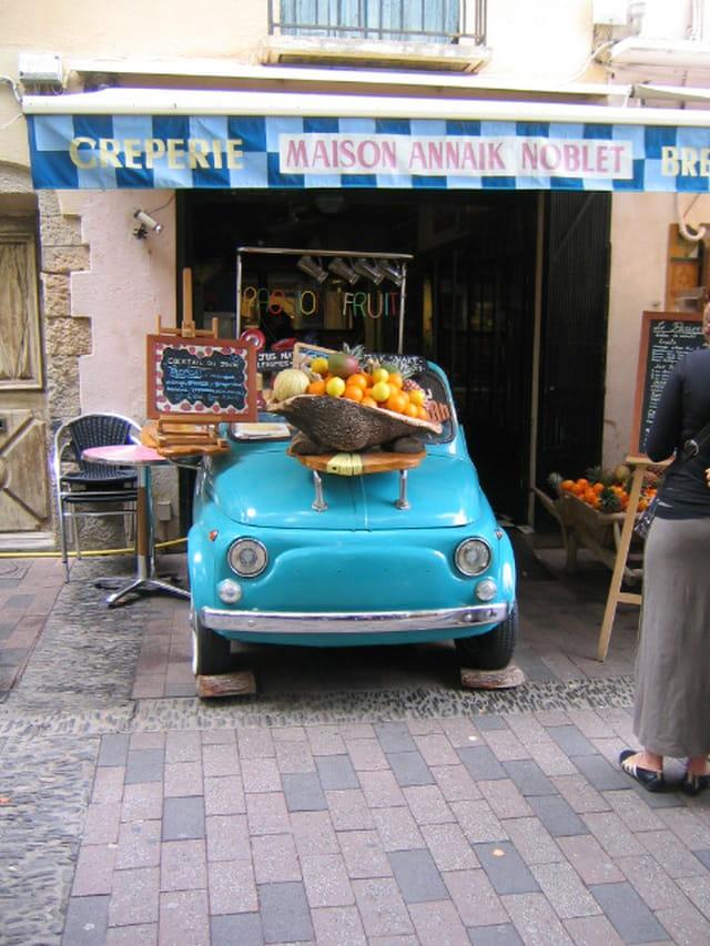Petite voiture vitaminée