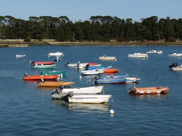 Petits bateaux colorés (Juliane)